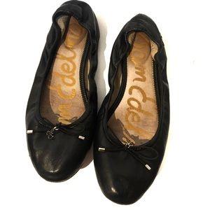Sam Edleman Black Ballet Flats